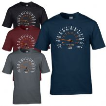 Speedometer 1993 Birthday T-Shirt - Funny Feels Age Year Present Mens Gift